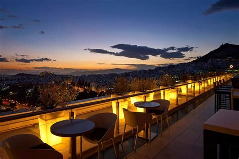 Top 6 roof garden bars in Athens - Greeka