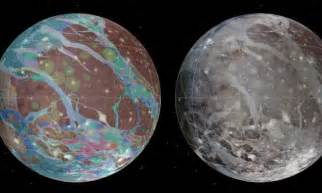 Ganymede gets its first map - 400 years after Galileo