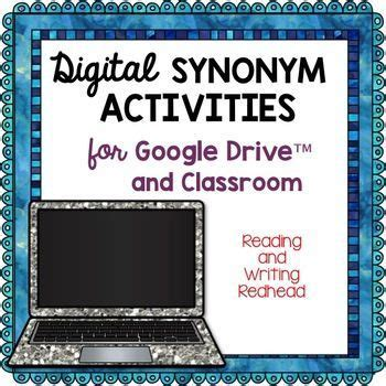 Digital Synonym Activities for Google Drive (With images