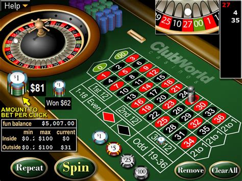 Free American Roulette Game - RTG