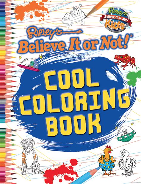 Cool Coloring Book - Ripley's Believe It or Not!