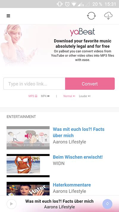 Free yaBeat - YouTube Downloader APK Download For Android