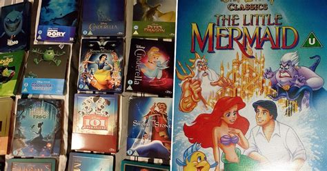 Your Disney DVDs Could Be Worth A Fortune Now
