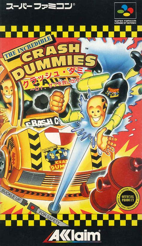 The Incredible Crash Dummies for SNES (1993) - MobyGames