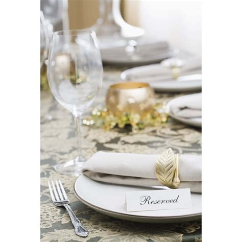Table Setting Etiquette: Napkin Placement   Synonym