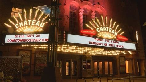Chateau Theater renovation likely delayed after expected