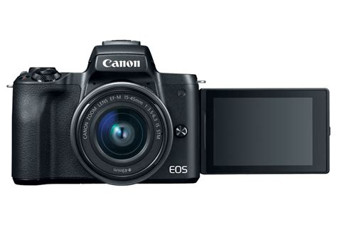 Canon Unveils the EOS M50 as Its First Ultra HD 4K