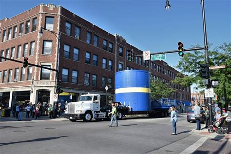 Iconic Swedish Flag Water Tower Returns To Andersonville
