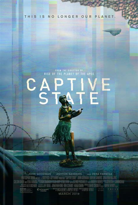 Official Trailer & New Poster To Captive State Starring