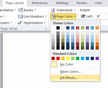 How to Insert a Background Image into Word